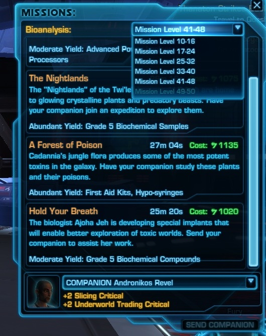 Swtor Best Crafting Skill To Make Money