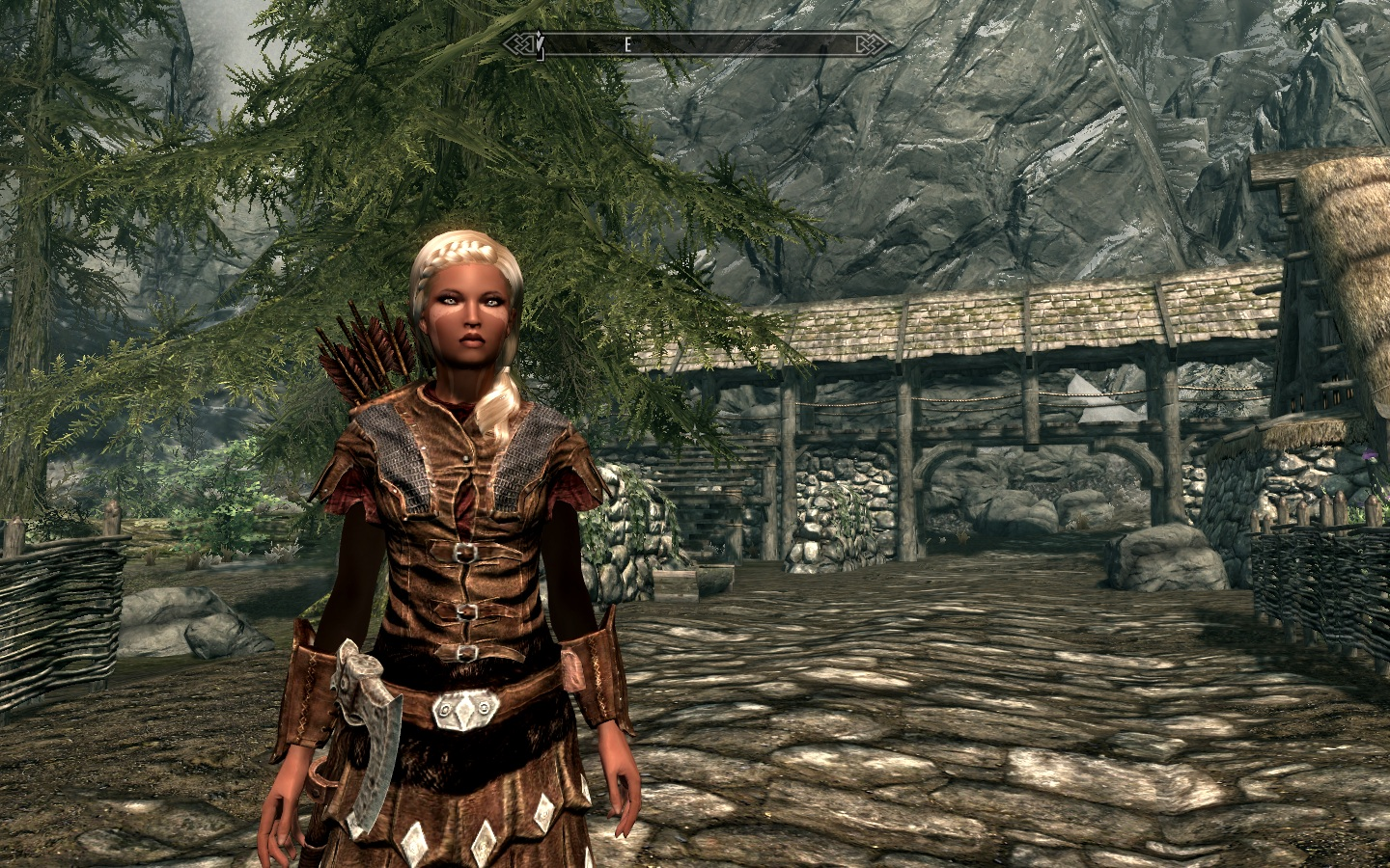 Skyrim mod highlight lunari race