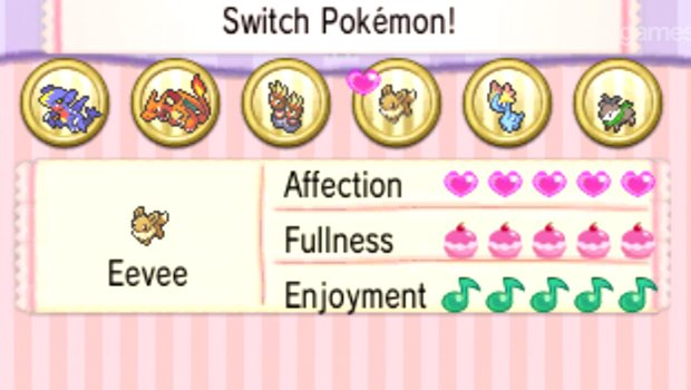 Pokemon X and Y Affection Level Check